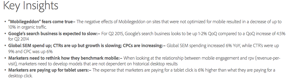 Adobe Mobilegeddon key insights