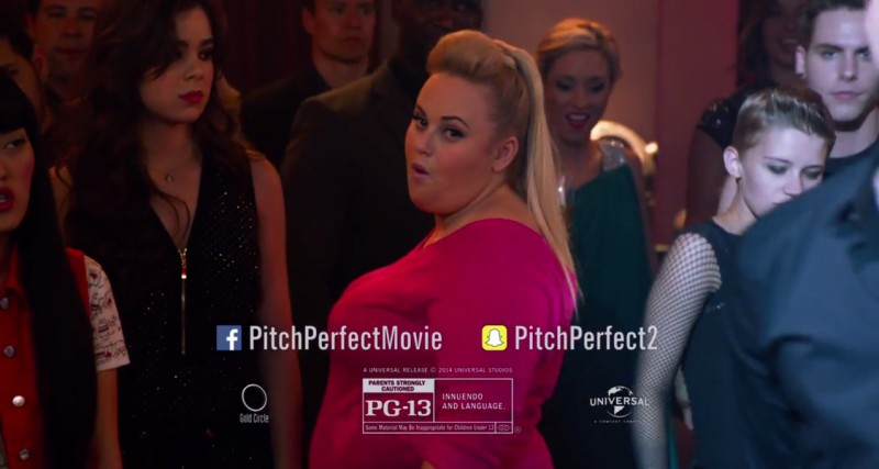 Pitch Perfect 2 Official Super Bowl Using #Hashtag